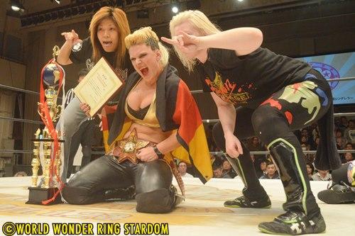 Stardom Results: Alpha Female Makes History, Hatred/Kimura Win Tag Titles -  Diva Dirt