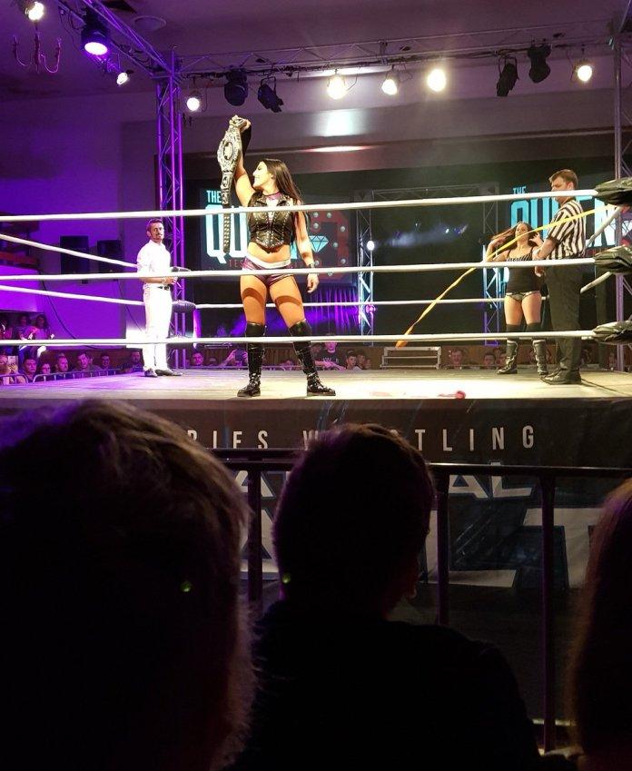 Tessa Blanchard wrestles in Adelaide, Australia for World Series Wrestling
