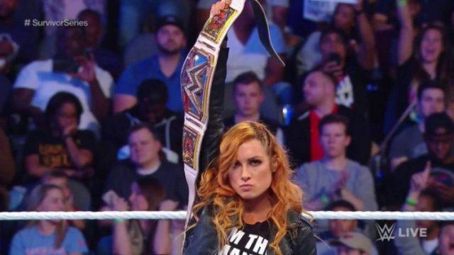 SmackDown Women's Champion Becky Lynch