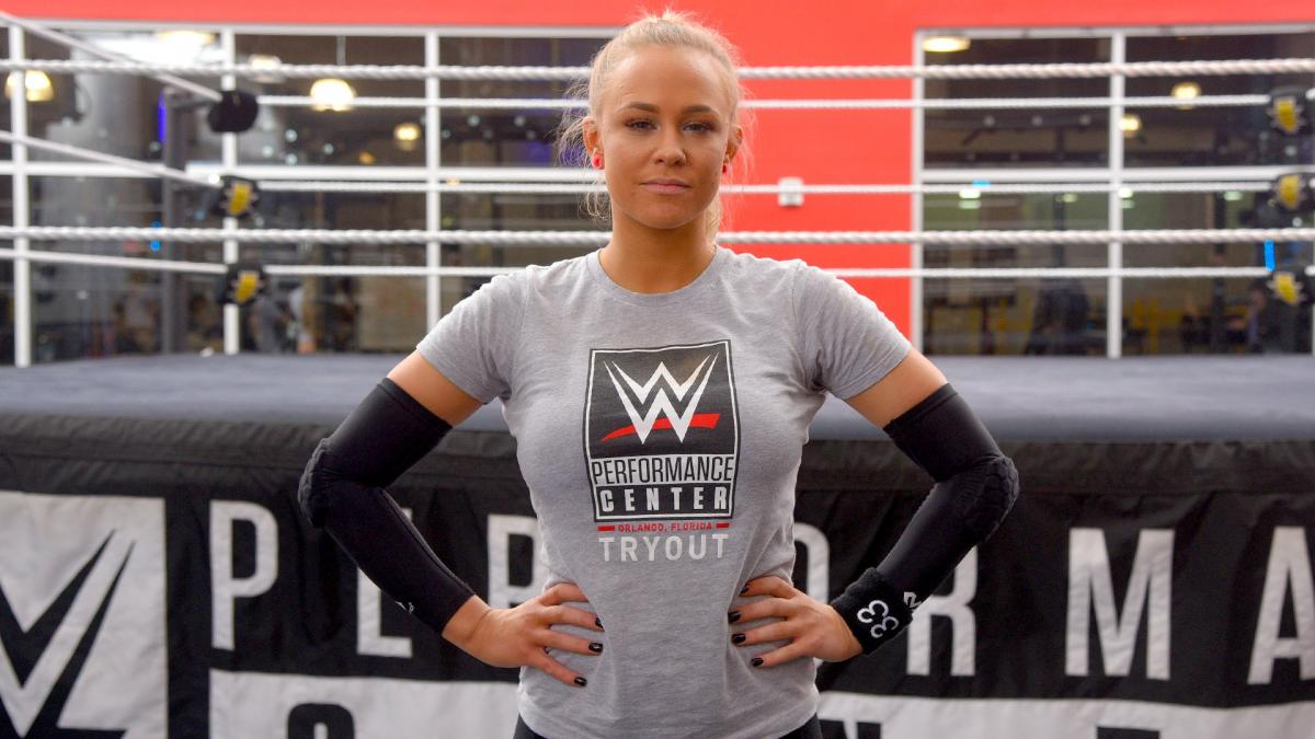 Penelope Ford attends WWE tryout - Diva Dirt