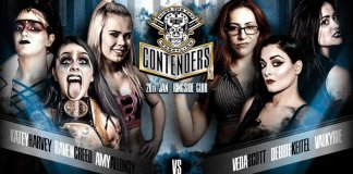 OTT Contenders 13 feat. Katey Karvey, Amy Allonsy and Raven Creed vs. Valkyrie, Debbie Keitel and Veda Scott