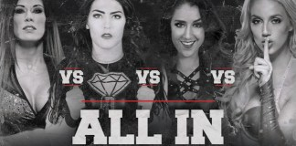 tessa blanchard vs chelsea green vs madison rayne vs britt baker all in title card