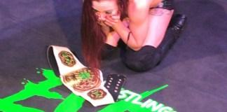 Kay Lee Ray wins Pro Wrestling EVE Championship