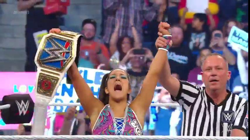 Bayley crowned as new SmackDown Women's Champion