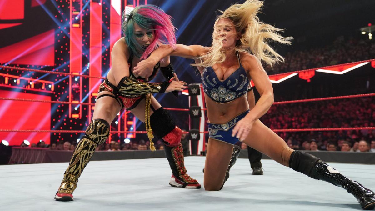 Asuka vs. Charlotte Flair announced for this Monday's RAW