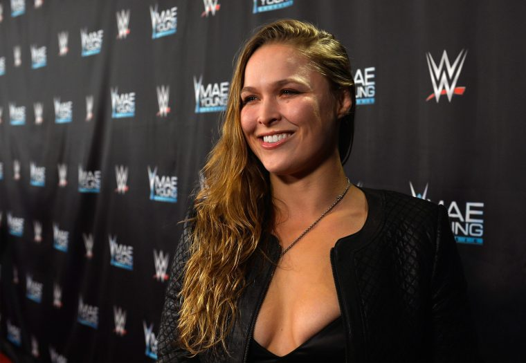 Ronda Rousey makes her pregnancy announcement