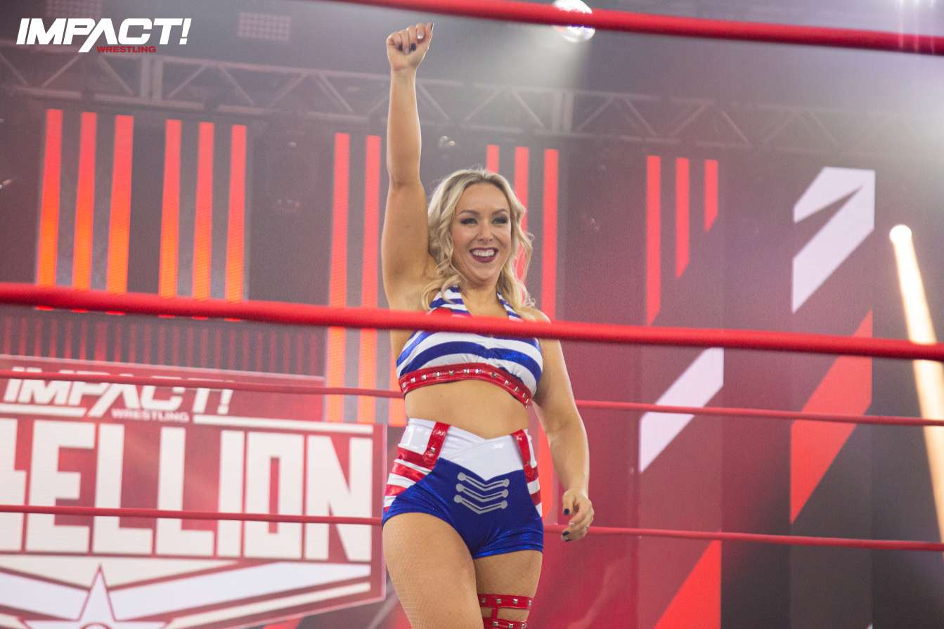 Taylor Wilde makes her return to the ring on this week's IMPACT