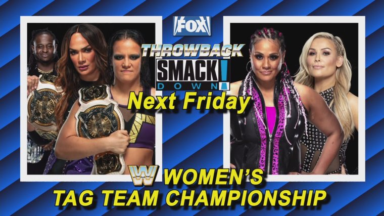 WWE Women's Tag Team Championship match booked for SmackDown on May 14