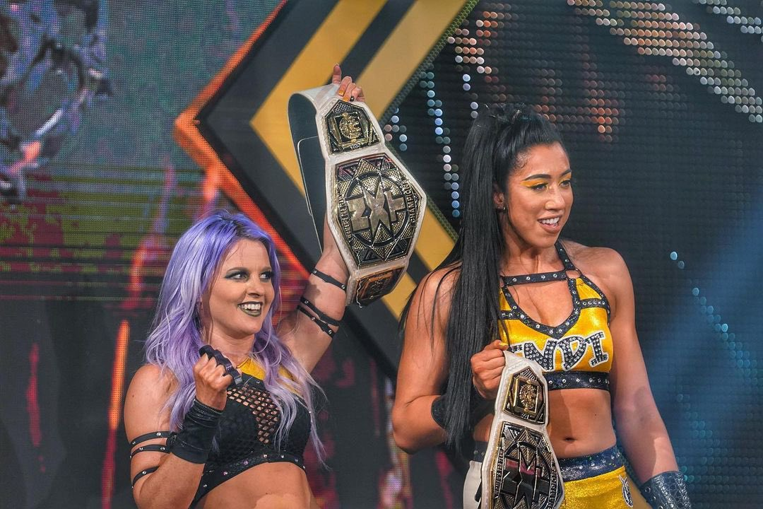 The Way survives a main event street fight to become the new NXT Women's Tag Team Champions
