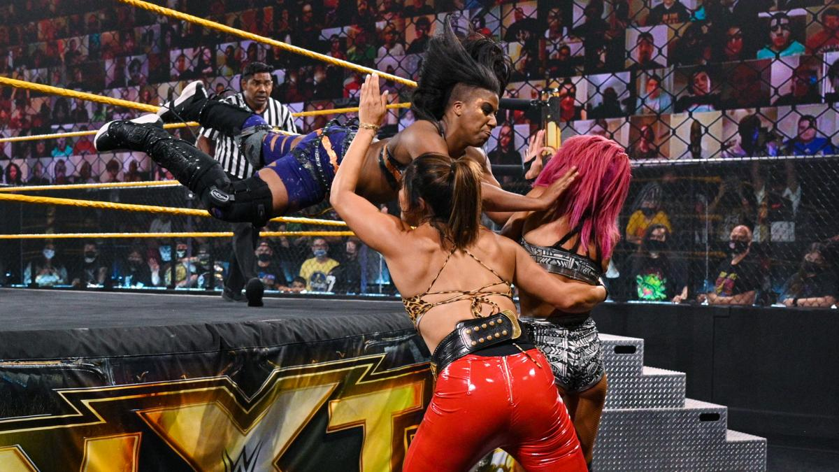 Ember Moon gets the last laugh heading into In Your House; Io Shirai returns