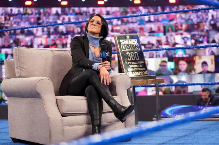 Bayley says a fond goodbye to the WWE ThunderDome