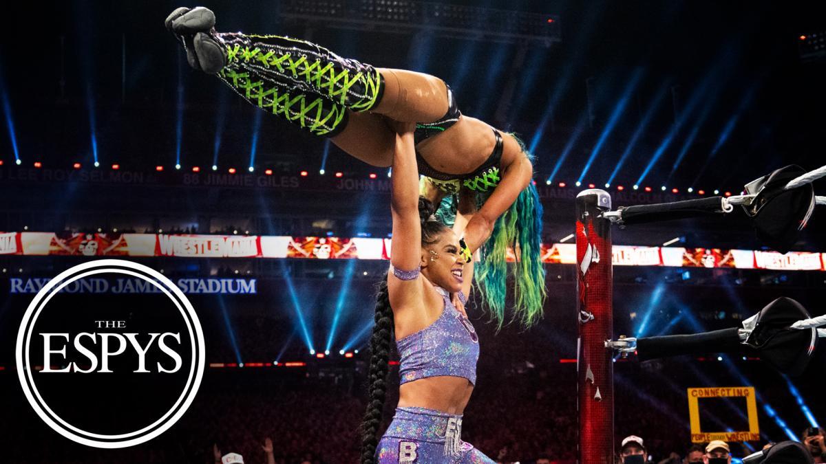 Bianca Belair & Sasha Banks win an ESPY award for their WrestleMania match