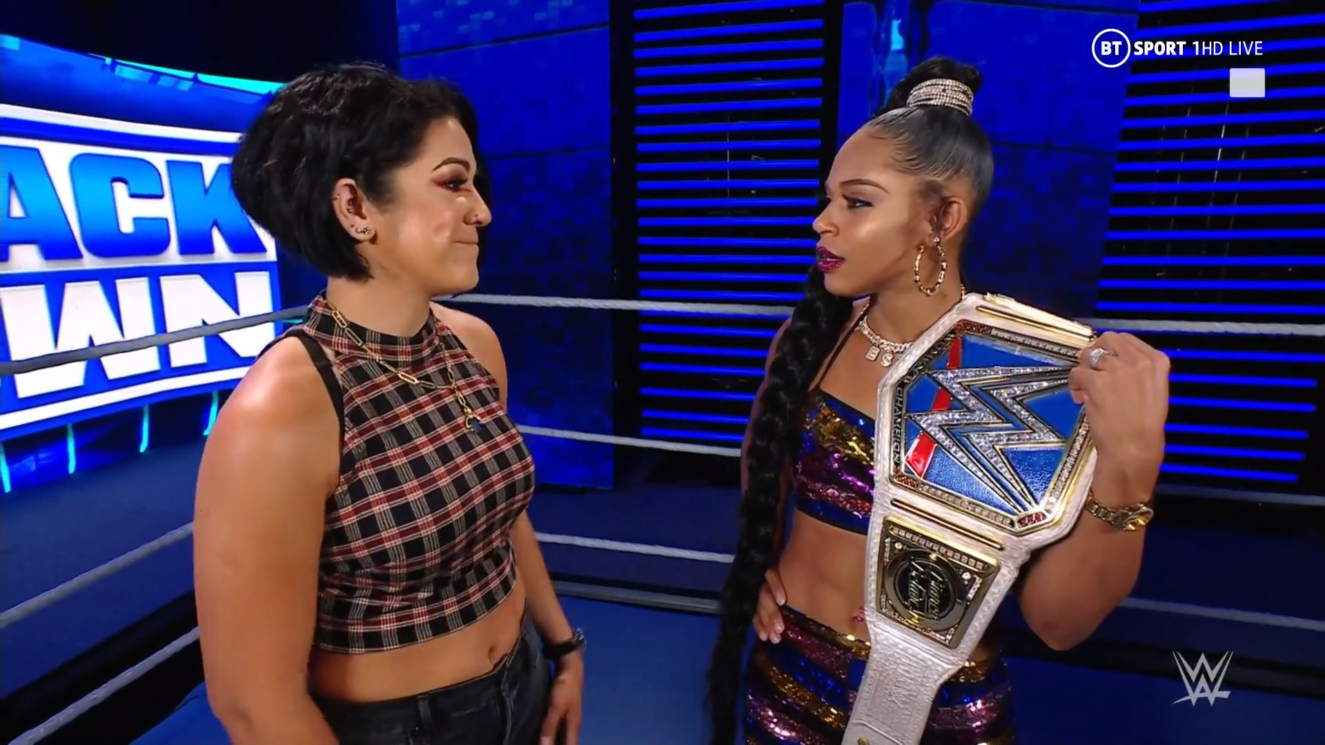 Bianca Belair says Bayley was the perfect opponent