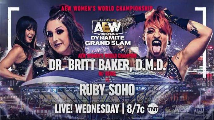 Britt Baker vs. Ruby Soho set for Sept. 22 Dynamite; Jade Cargill extends her undefeated streak - Diva Dirt