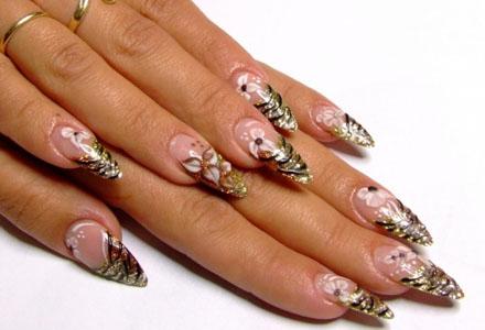 unghii cu acril