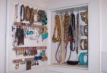 dulap pentru aranjare bijuterii