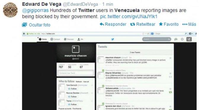 Denuncian que gobierno de Nicolás Maduro bloqueó uso de Twitter