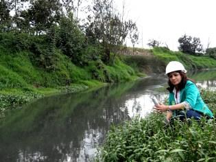 Clara García y el Río Bogotá
