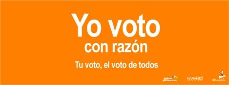 Yo voto con razón