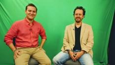 El Subsecretario de Ciudanía Cultural de Medellín y el editor de DIVÁN POLÍTICO