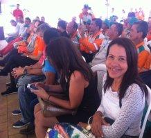 Omaira Estela Montoya,educadora en uno de los centros día.