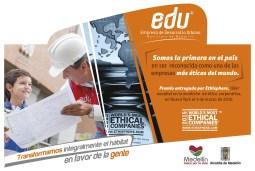 Medellín, por medio de la Empresa de Desarrollo Urbano (EDU), asesorará a otros gobiernos en proyectos de innovación social. Foto: edu.gov.co