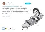 Tuit de Jorge Melguizo en Diván Político