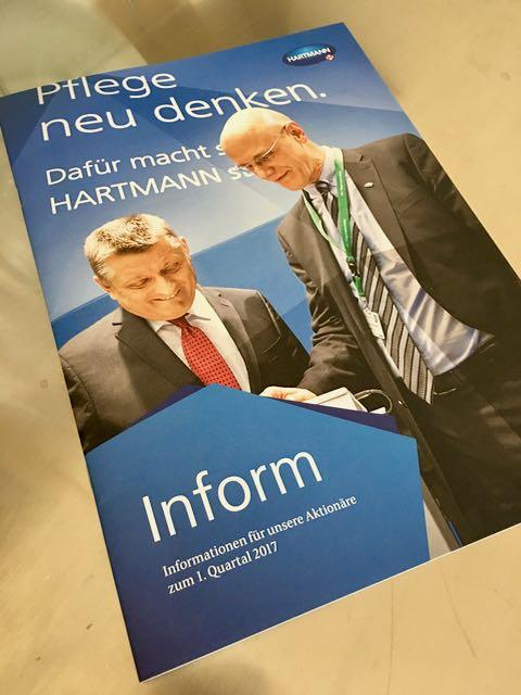 Paul Hartmann zahlt Dividende aus!