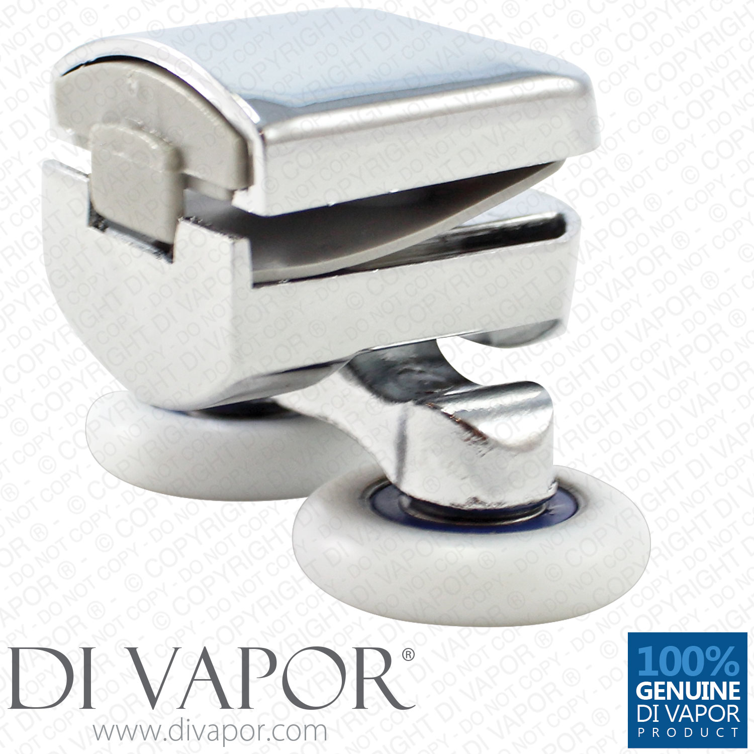Details About Di Vapor R Top Metal Double Shower Door Roller 6mm To 8mm Glass Spares