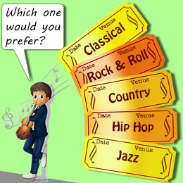 Image result for types of music""