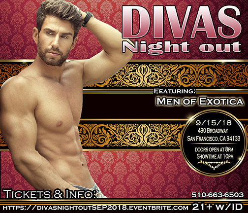 San francisco male revue show divas night out hottest male revue divas night out male revue san francisco september 2018 with men of exotica thecheapjerseys Image collections