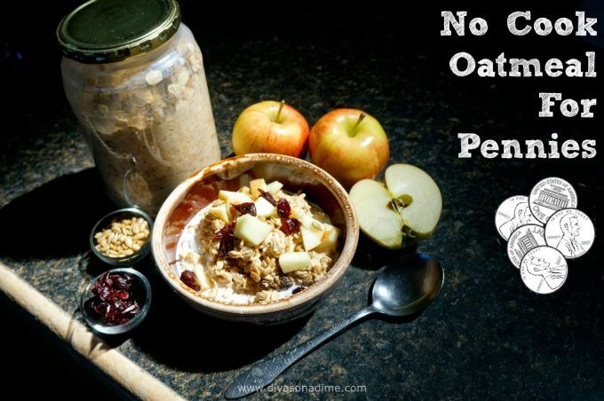Healthy, easy, no-cook breakfast in a jar? Yes, please! Overnight oatmeal is power packed for pennies. Delicious, nutritious and CHEAP!