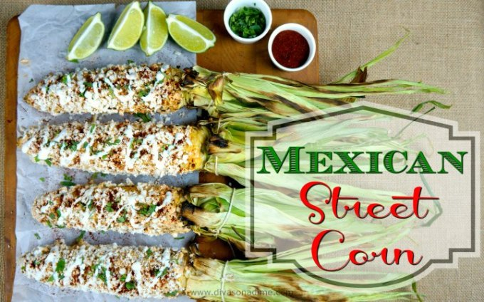 The best, easy, crazy good, recipe for Mexican Street corn. Perfect for Cinco de Mayo or your next BBQ. The best way to serve corn, ever.