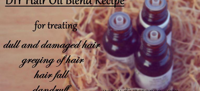 DIY Hair Oil Blend Recipe feat. Allin Exporters Essential Oils