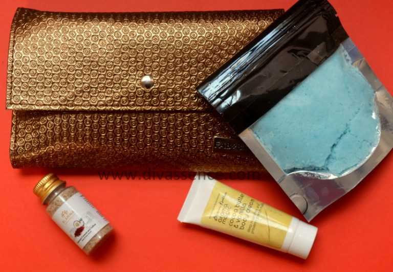 Fab Bag December 2017, Indian beauty subscription bags, best makeup shopping sites in India, Indian makeup blog, Indian beauty blog, chennai beauty blogger