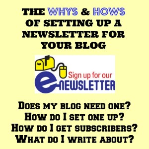 The Whys And Hows of Setting Up A Newsletter for Your Blog