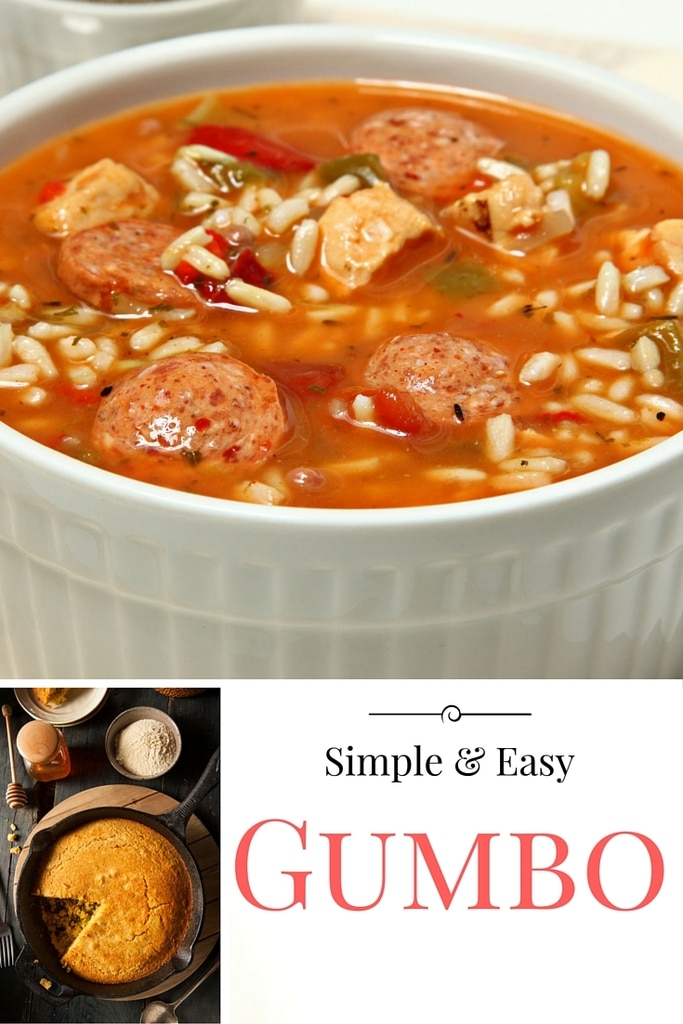 Simple and Easy Gumbo | Quick and Easy Meals | Divas With A Purpose