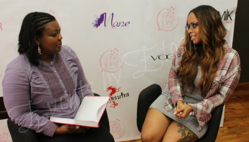 Sherika V Washington Interviewing Chrisette Michele