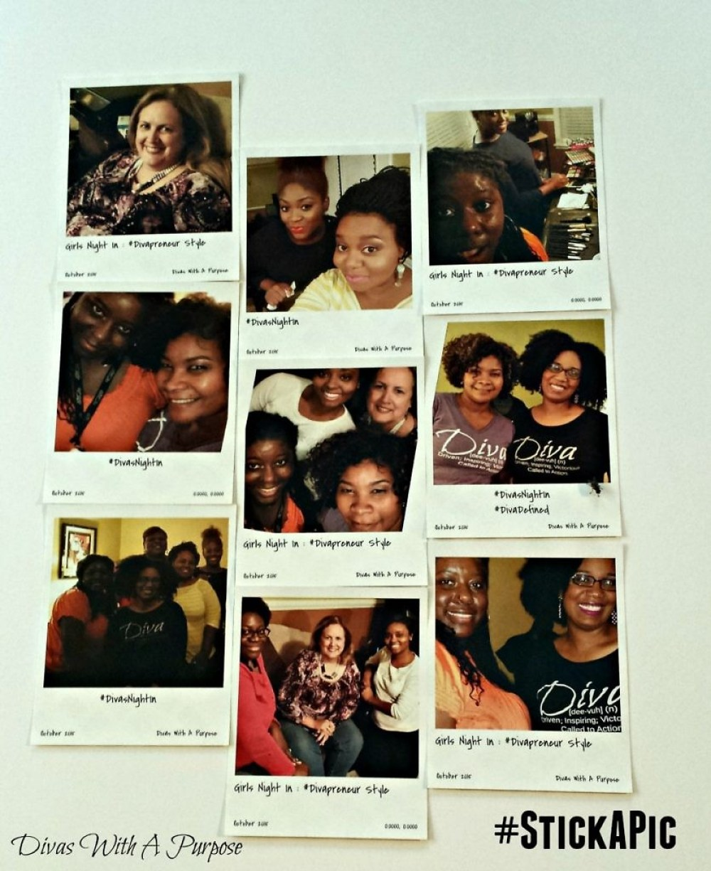 Snapshots Collage from Girls Night In: Divapreneur Style