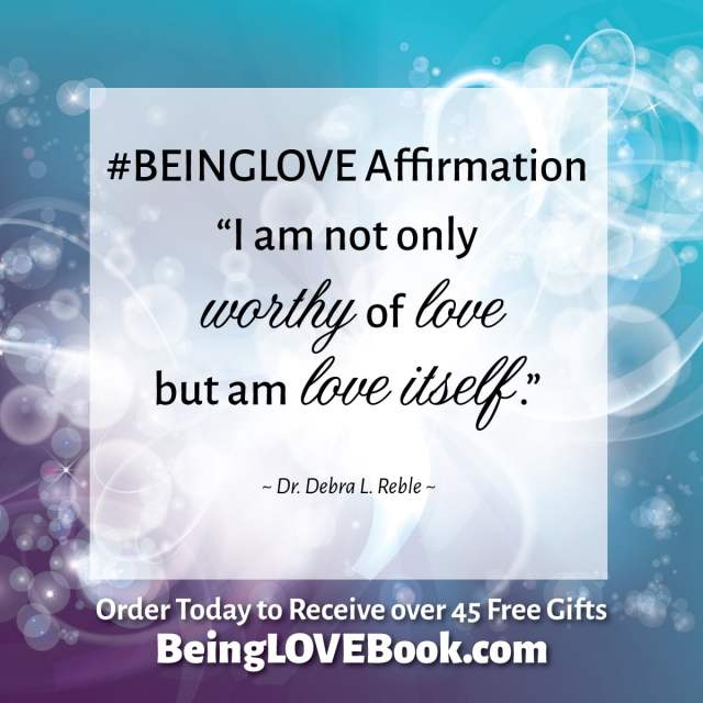 #BeingLove Affirmation on loving yourself
