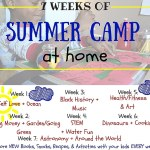 7 Weeks of Summer Camp at Home