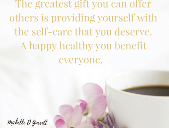 Self-Care: Necessity Not Luxury