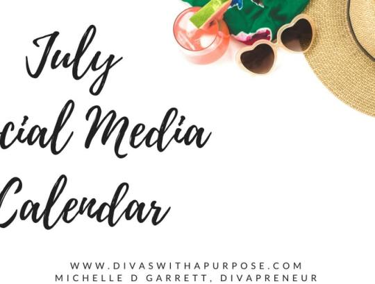 July Social Media for Business