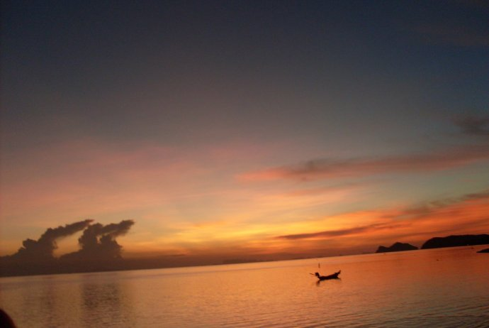Sunset on Koh Phangan
