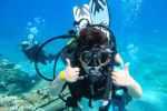 a little boy enjoying the Dive