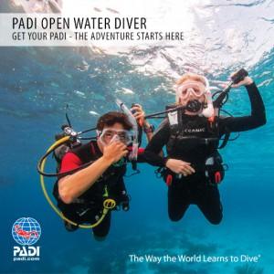 GRATIS PADI Open Water Diver Cursus