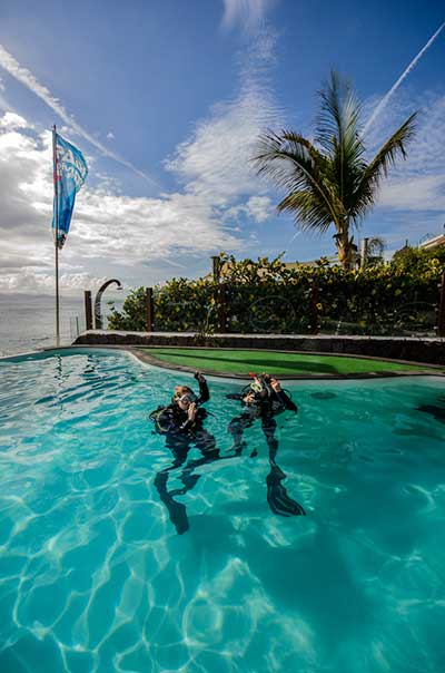 Cours de Plongée PADI, Dive College Lanzarote