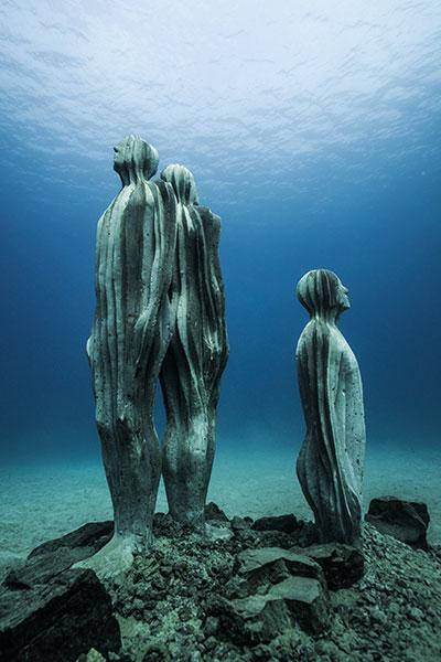 Underwatermuseum, Sculptures