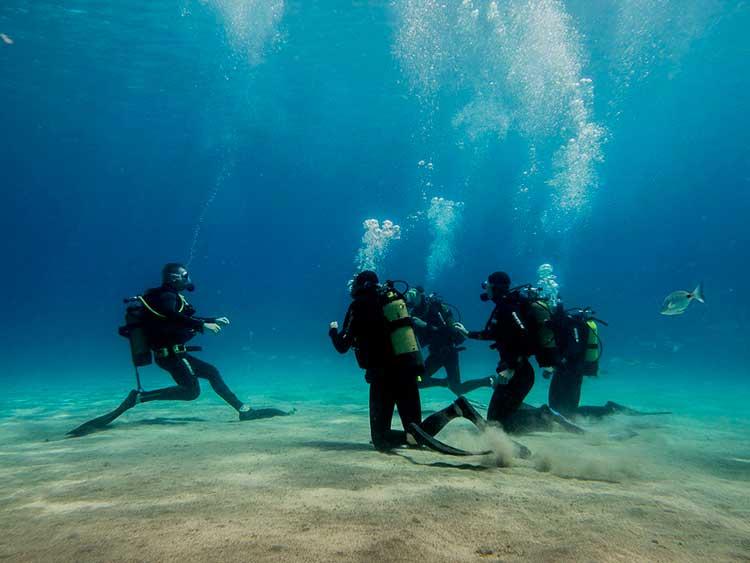 PADI Scuba Diver, Dive College Lanzarote