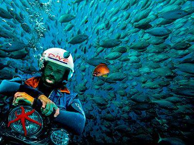 Damian Hayward, staff Dive College Lanzarote, Playa Blanca
